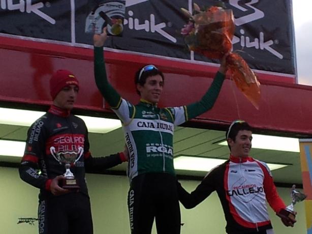 Fernando Grijalba podio