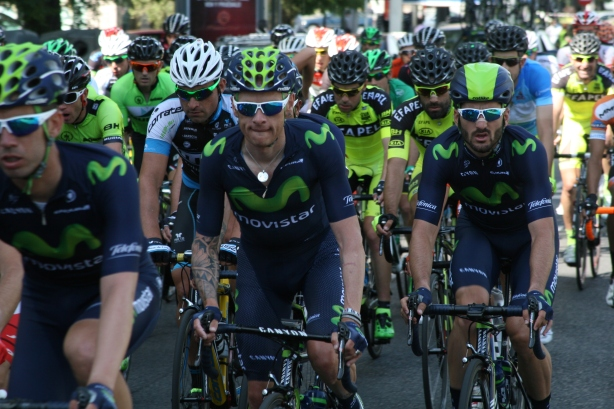 Movistar Team - Vuelta a Madrid 2015